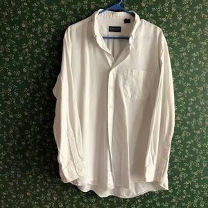Lands' End White Dress Shirt!